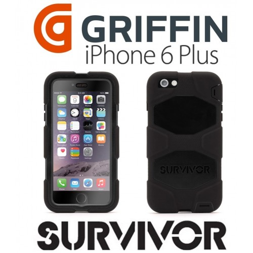 Estuche Griffin Survivor antichoque iPhone 6 Plus 6s plus