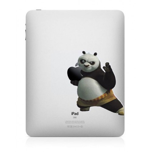 Skin Sticker iPad 1 2 3 4 Adhesivo Calcomania Po Kung Fu Panda