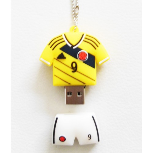 Memoria Usb 4gb Falcao Camiseta Colombia
