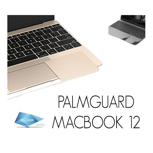 "Protector de Palmguard Macbook Retina 12"" colores"