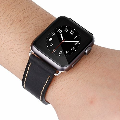 Pulso Correa Cuero Para Apple Watch 42mm Leather Loop