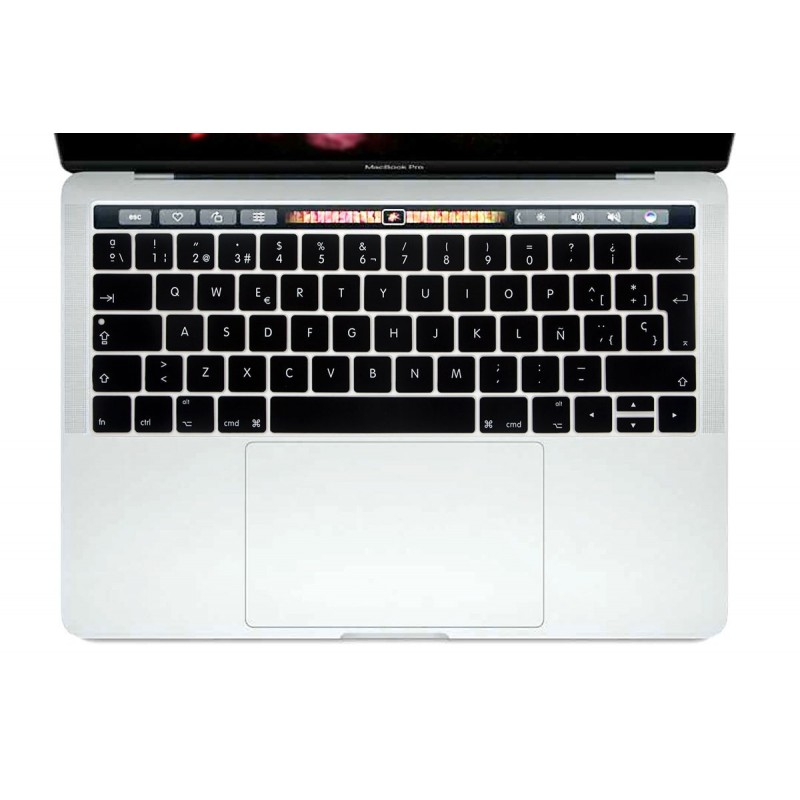Protector de Teclado Español Macbook Pro Touch Bar 13""