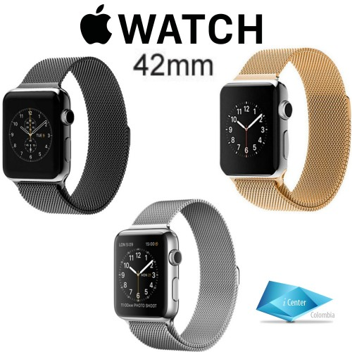 Pulso Milanese Loop Para Apple  Watch 38 Mm Series 1 2  3