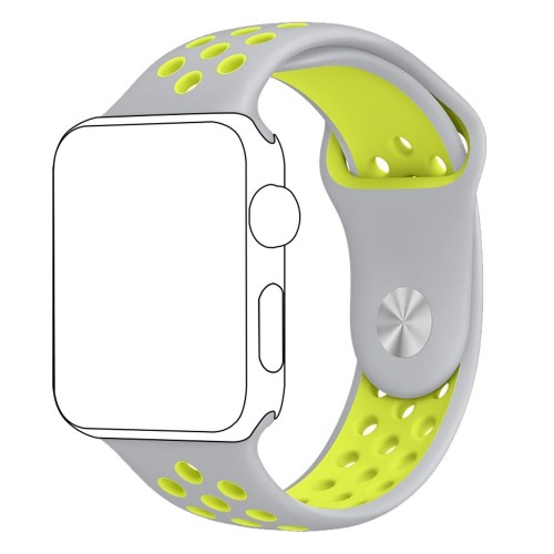 Pulso Apple Watch 42mm Correa Silicona Tipo Nike