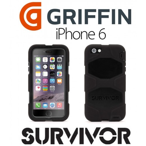Estuche antigolpe iPhone 6 Survivor Griffin