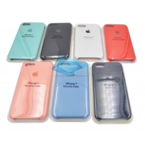 Carcasa Silicone Case iPhone 7 8