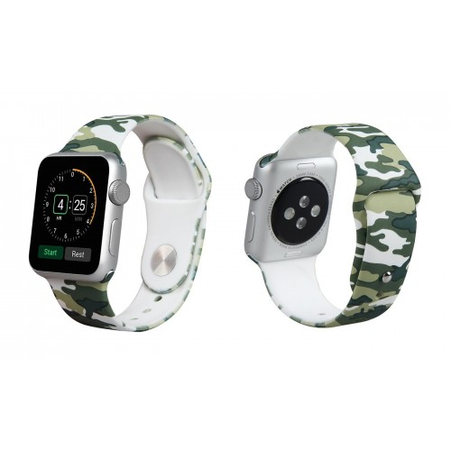 Pulso Correa Sport En Silicona Para Apple Watch Iwatch 38 Mm Serie 1 y 2