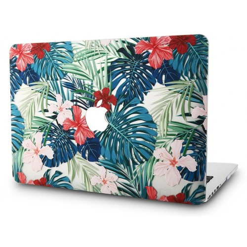 Carcasa Macbook Air 13 Diseño Flores