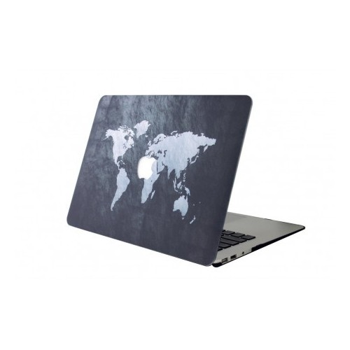 "Carcasa Macbook Air 13"" Diseño Mapamundi"