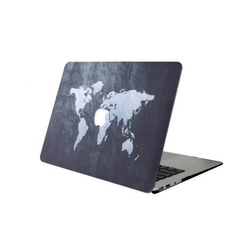 "Carcasa Macbook Air 11"" Diseño Mapamundi"
