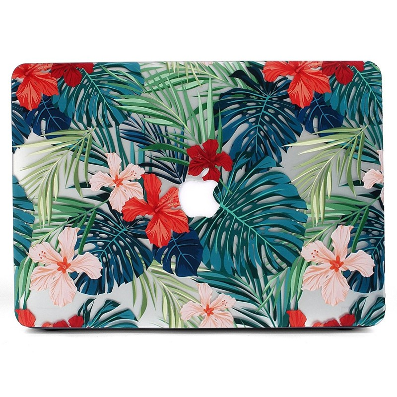 Carcasa Macbook Pro 13 Touch Bar Diseño Flores