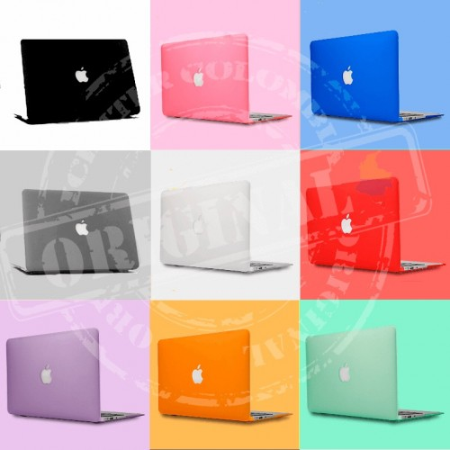 "Carcasa Macbook Pro 13"" con unidad de CD Corte Logo - Mate"