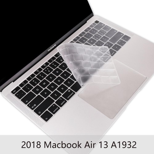 Protector de Teclado  INGLES Macbook Air 13 año 2018 MODELO A1932