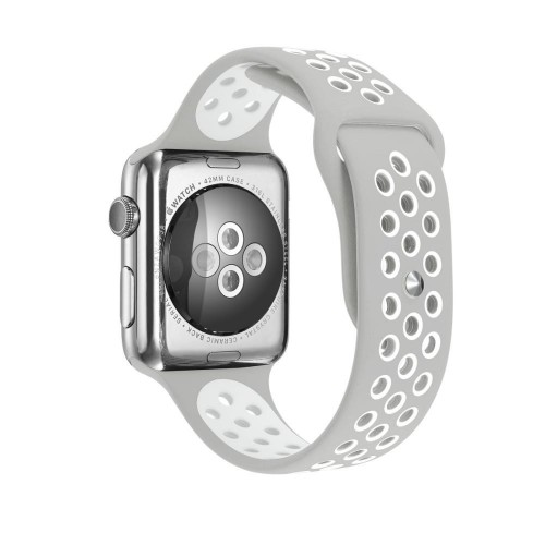 Pulso Apple Watch 40 mm Silicona Tipo Nike  Series 4 5 6 SE