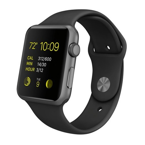 Pulso Correa Sport en silicona Para Apple Watch 44 mm serie 4