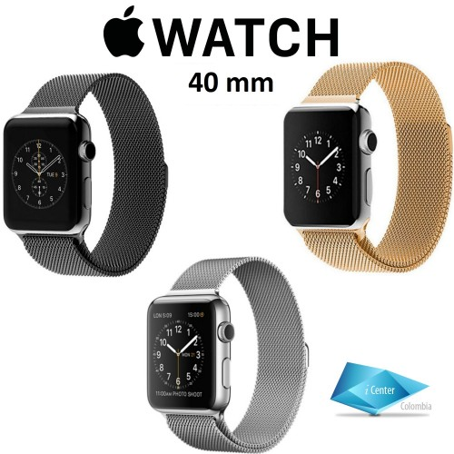Pulso Milanese Loop Para Apple Watch 40 mm serie 4