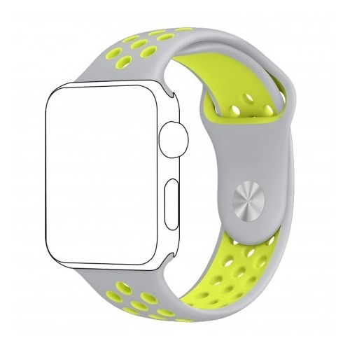 Pulso Apple Watch 40 mm Correa Silicona Tipo Nike Serie 4 5