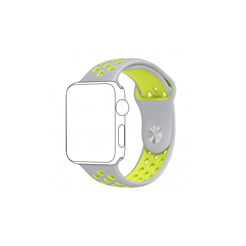 Pulso Apple Watch 44 mm Correa Silicona Tipo Nike Serie 4