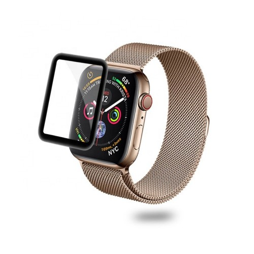 Vidrio 3d Protector Pantalla Apple Watch 40mm Serie 5 + Kit