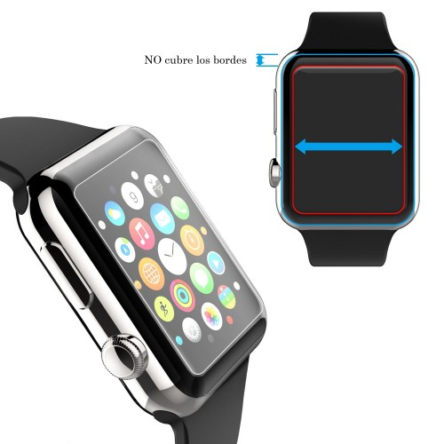 Vidrio Protector Pantalla Apple Watch 40 Mm Serie 4 + Kit
