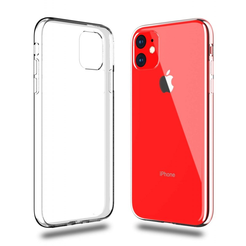 Carcasa iPhone 11 Estuche Flexigel Transparente Ultradelga