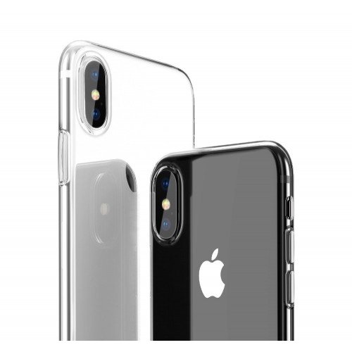 Carcasa iPhone XR  Estuche Flexigel TPU Transparente Ultradelga
