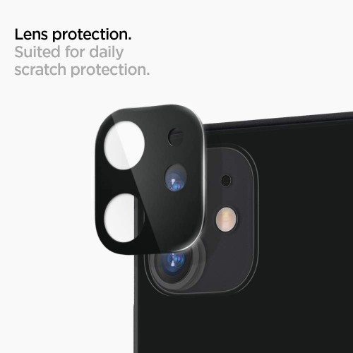 Protector 3D Camara Vidrio Lente Apple iPhone 11 + Kit