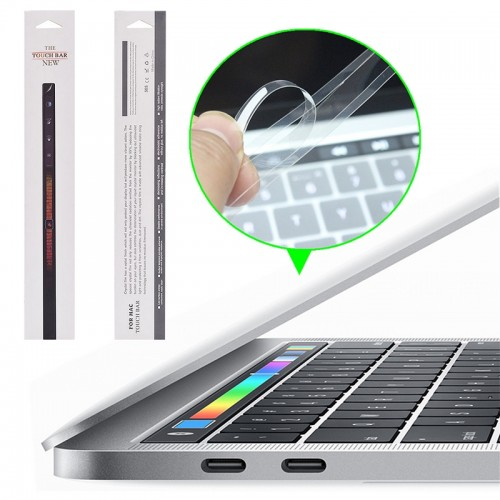 Protector barra touch bar Macbook 13