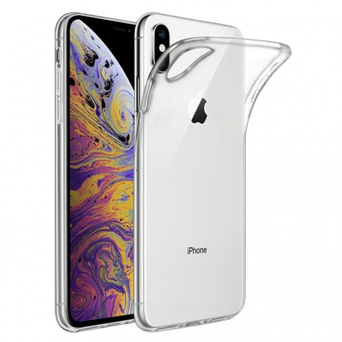 Carcasa forro funda  iPhone  XS MAX  TPU Flexigel