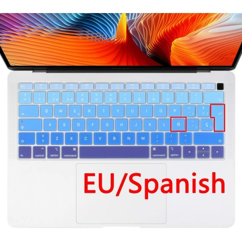 "Protector teclado Macbook Air 13"" modelo A1932"