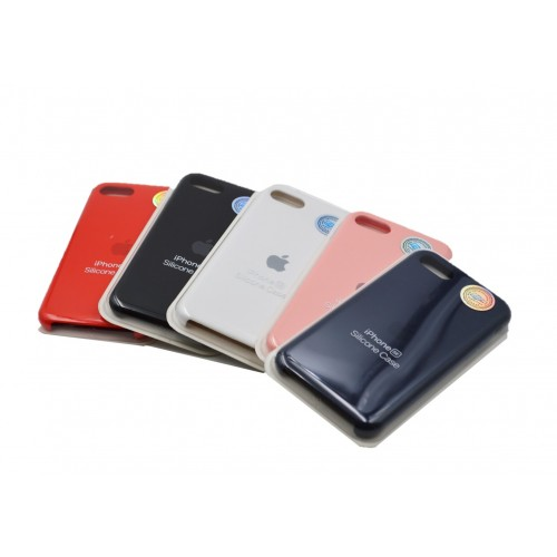 Carcasa iPhone SE 2020 Estuche Silicone Case Colores Sellada