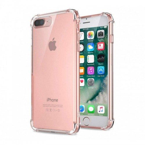 Carcasa iPhone 6 Plus 6s Plus Reforzada Flexigel Tpu Transparente