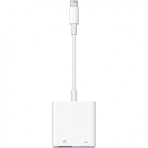 Adaptador Cable Conector Lightning a Usb 3 Camara iPad iPhone