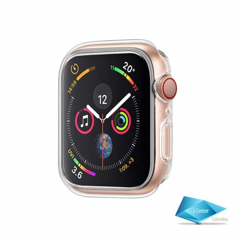 Estuche Carcasa TPU  Flexigel Apple Watch 44 mm Serie 4 5 6 SE