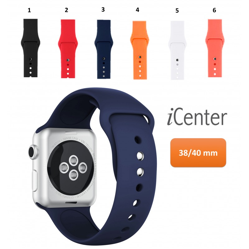 Pulso  Silicona  Apple Watch Iwatch  40mm Serie 12345 SE 6