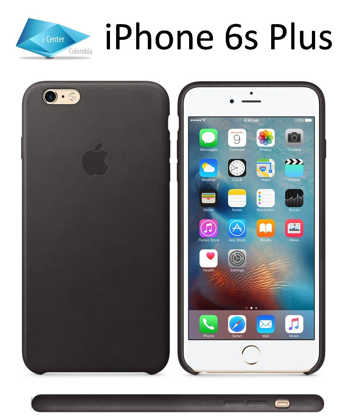 iphone 6s or 6 plus carcasa estuche funda cuero iphone 6 plus 6s plus con 17600